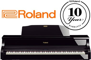 10 years of warranty by Roland!